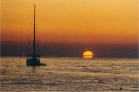 Enjoy the breathtaking sunset from La Ropa Beach! Click to see enlarged version (10k)